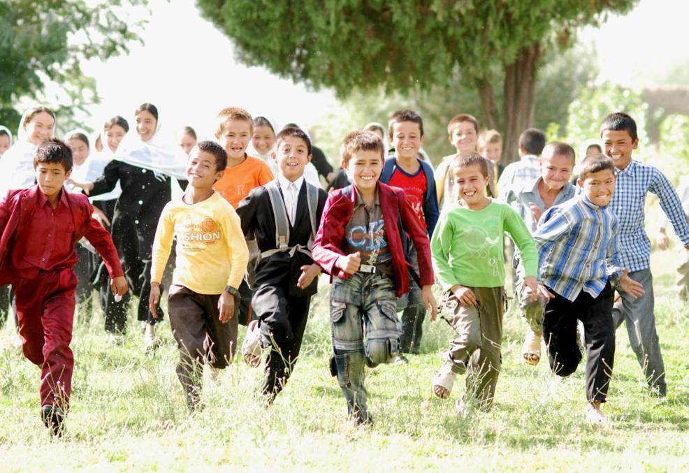 Unser Sinnversprechen: Zusammen Kindern Zukunft schenken.