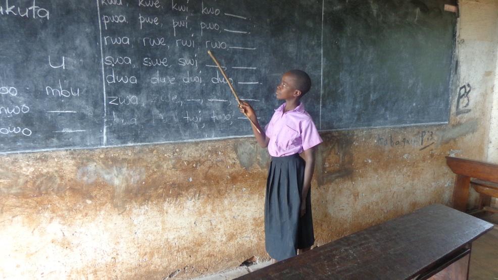 Unsere Antwort auf Armut und Ausbeutung: Bildung für alle.